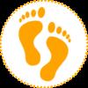 Human-footprints_cirkel prikker